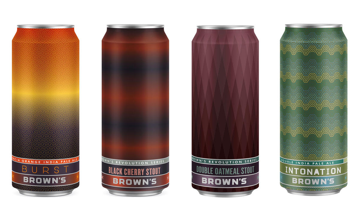 Brown's Brewing Cans